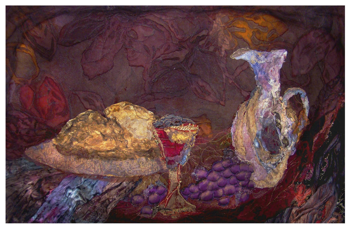 BREAD AND WINE  80 x 50   commission