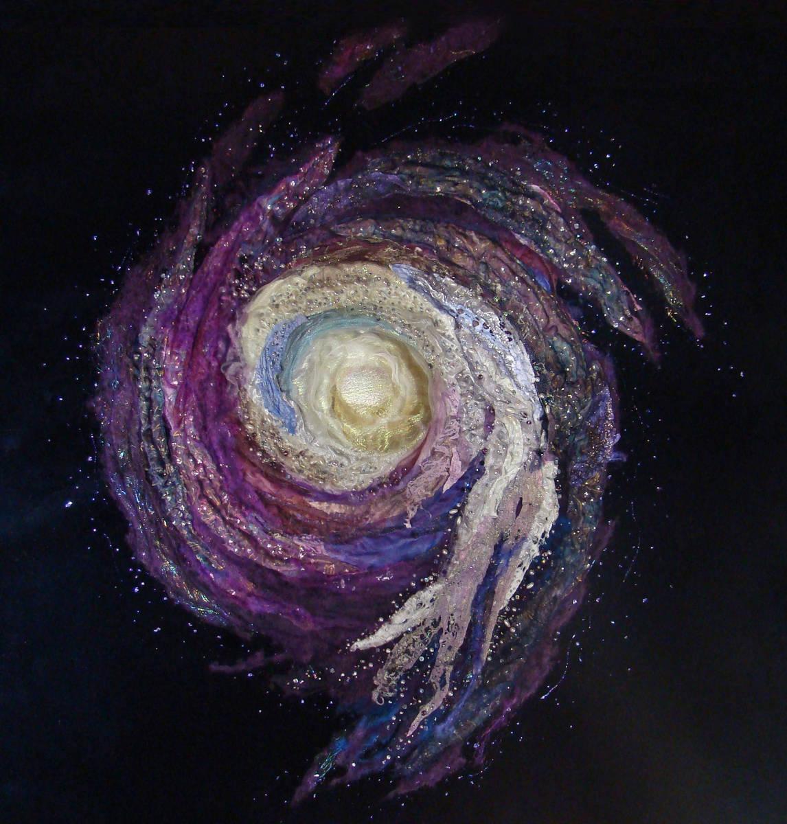 STARBURST GALAXY – 80 x 80 cm   (sold)