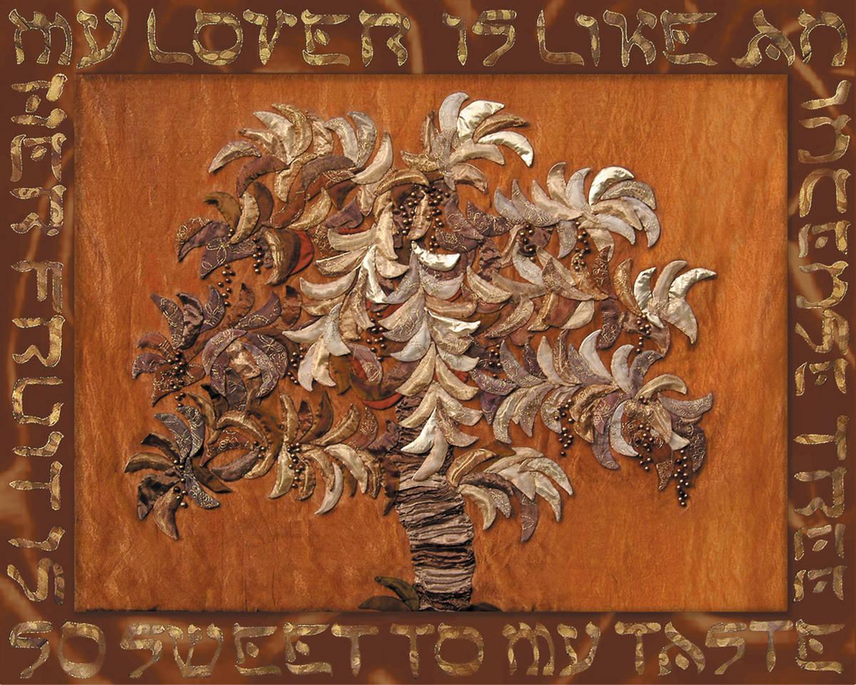 INCENSE TREE 100 x 130   verkocht