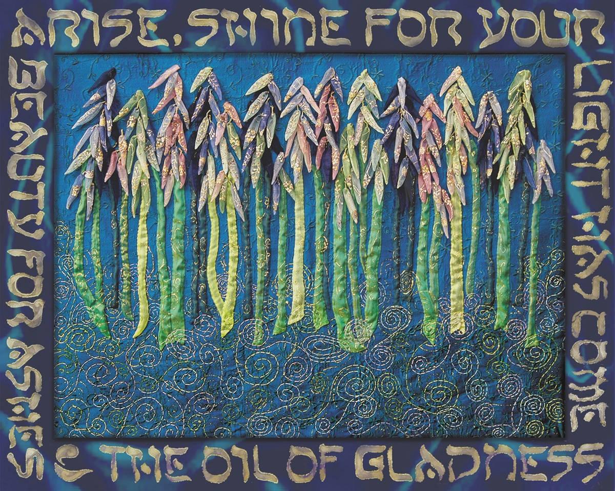 ALMOND TREES 100 x 130  verkocht
