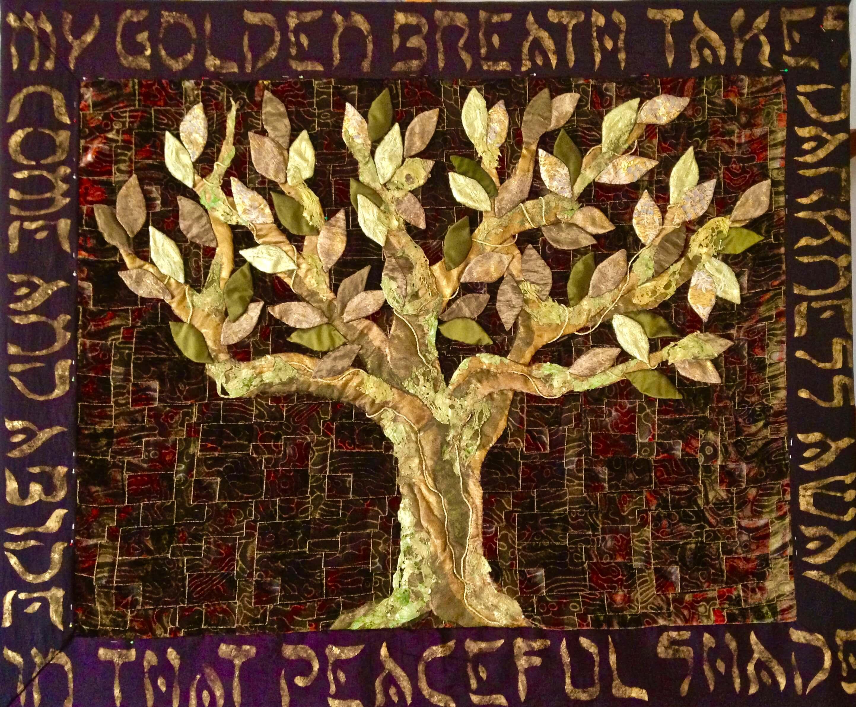 TREE OF WISDOM  100 x 130   verkocht